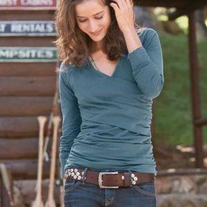 Sundance Vanessa v neck top blouse